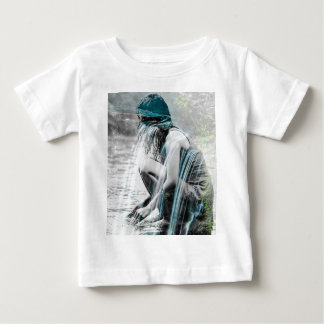 Girl in the Waterfall Baby T-Shirt