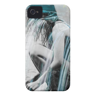 Girl in the Waterfall iPhone 4 Case-Mate Cases