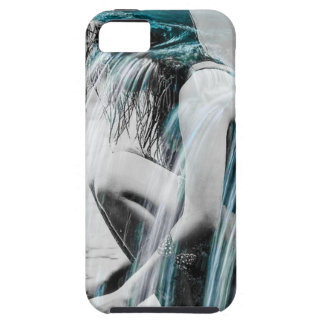 Girl in the Waterfall iPhone 5 Case