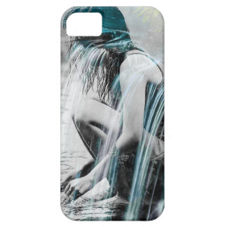 Girl in the Waterfall iPhone 5 Covers