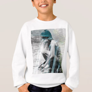 Girl in the Waterfall Sweatshirt