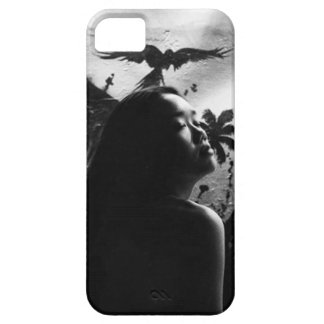 Girl in Thought iPhone 5 Covers