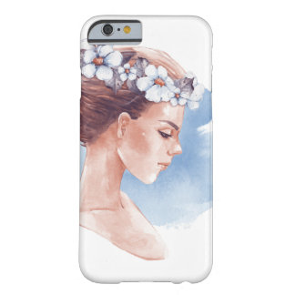Girl in wreath barely there iPhone 6 case