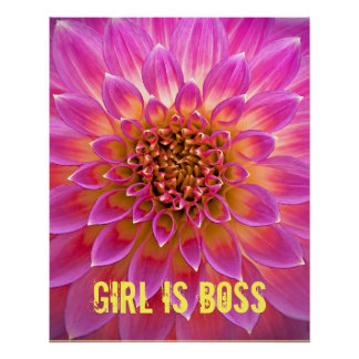 Girl Is Boss Poster Perfect Poster