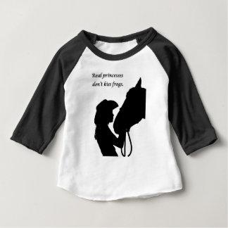 Girl Kissing Horse Baby T-Shirt