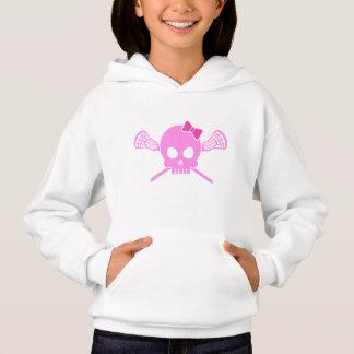 Girl Lacrosse Skull