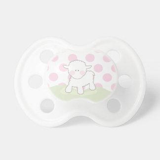 Girl Little Lamb | Pacifier