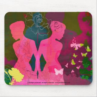 'Girl Love' Designer Mousepad