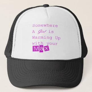 Girl Max trucker hat