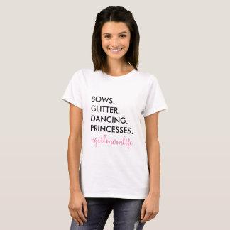 girl mom life tshirt