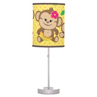 Girl Monkeys Table Lamp