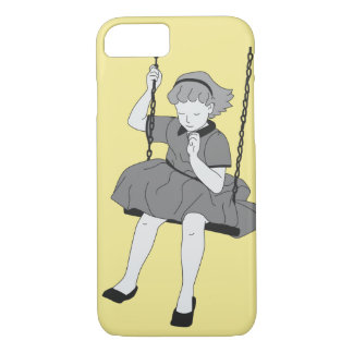 Girl on a Swing iPhone 7 Case
