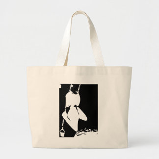 Girl on a Swing Tote