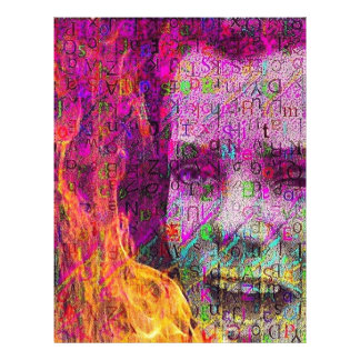 Girl on Fire Letterhead
