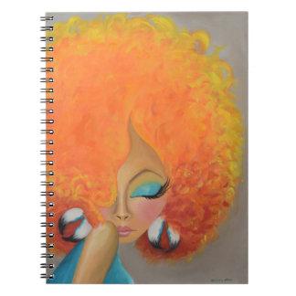 Girl on Fire Notebook