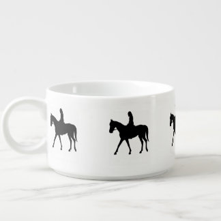 Girl on Horse Bowl