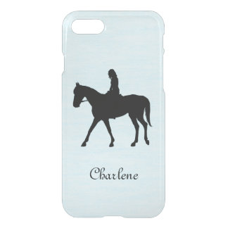 Girl on Horse Personalized iPhone 8/7 Case