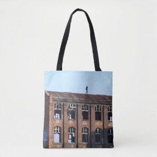 Girl on the Roof 01.0, Lost Places Tote Bag