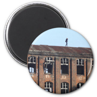 Girl on the Roof 02.2, lost places Magnet