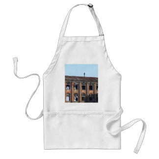 Girl on the Roof 02.2, lost places Standard Apron