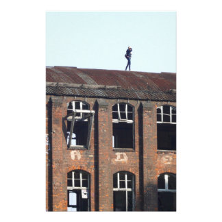 Girl on the Roof 02.2, lost places Stationery