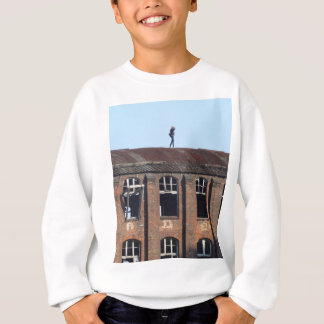 Girl on the Roof 02.2, lost places Sweatshirt