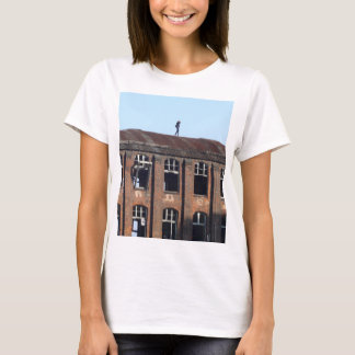 Girl on the Roof 02.2, lost places T-Shirt
