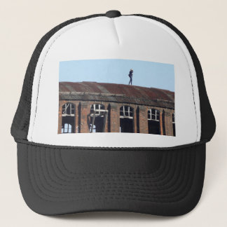 Girl on the Roof 02.2, lost places Trucker Hat