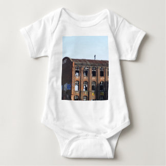 Girl on the Roof - Lost Places Baby Bodysuit