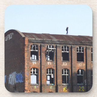 Girl on the Roof - Lost Places Coaster