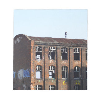 Girl on the Roof - Lost Places Notepad