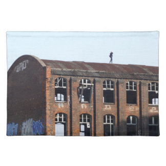 Girl on the Roof - Lost Places Placemat