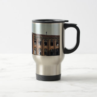 Girl on the Roof - Lost Places Travel Mug