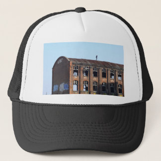 Girl on the Roof - Lost Places Trucker Hat