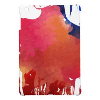Girl paint iPad mini case