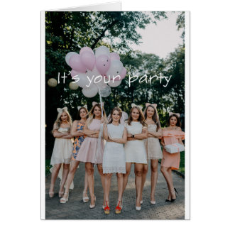 Girl Party! Card