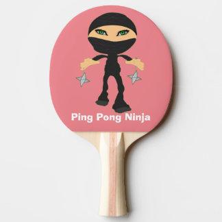 Girl Ping Pong Ninja Ping Pong Paddle