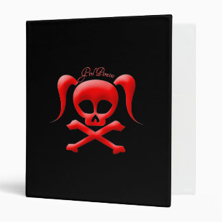 Girl Pirates Binder