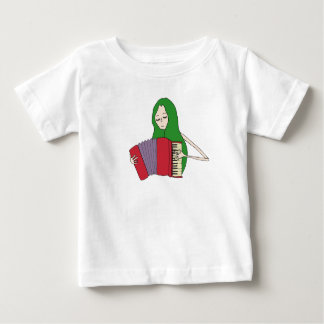 Girl Plays Accordion T-Shirt for Babies