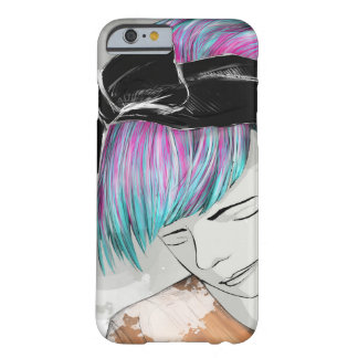 girl potrait barely there iPhone 6 case