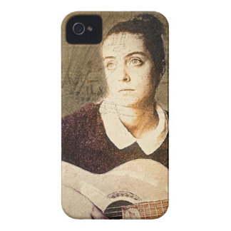 girl potrait iPhone 4 cover