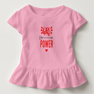 Girl Power all day Toddler T-shirt
