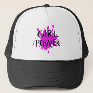 Girl Power Feminist Attitude Confidence Quote Trucker Hat