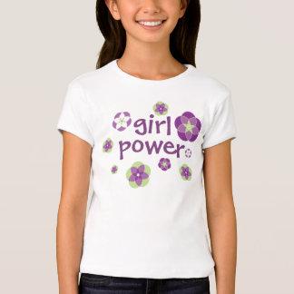 GIRL POWER Floral Tee
