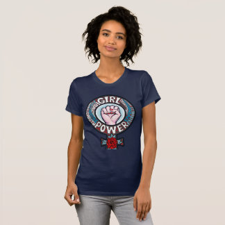 Girl Power Flower Power Progressive Rights T-Shirt