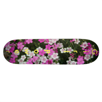 Girl Power flower Skateboard
