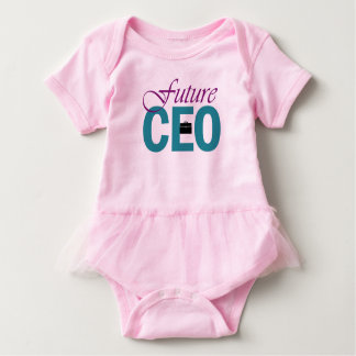 Girl Power: Future CEO Baby Bodysuit