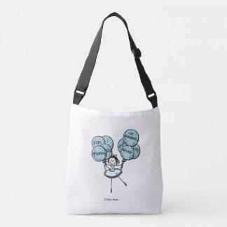 Girl Power - Go Blue! Crossbody Bag