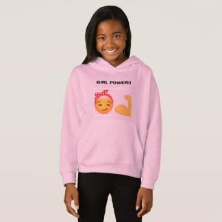 Girl power hoddie