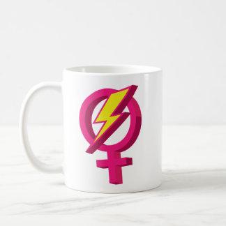 Girl Power Lightning Bolt Mug